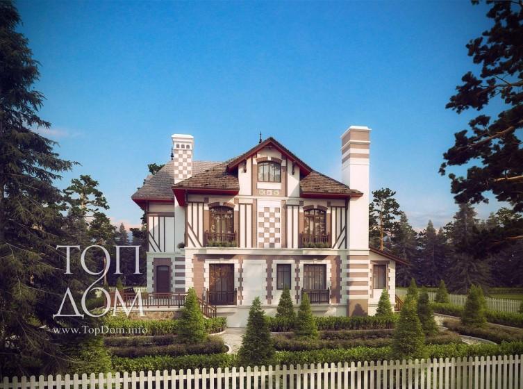 Архитектурный проект большого дома