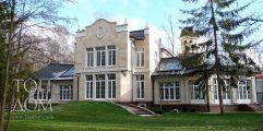 Готовое строительство дома в английском стиле