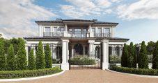 Дом в античном стиле