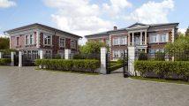 Архитектурный ансамбль – коттедж и гараж