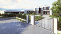 Общий вид монолитного частного дома