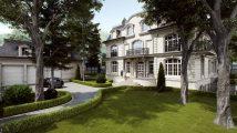 Французский частный дом