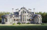 Общий вид дома по проекту
