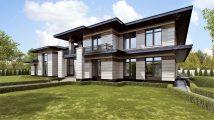 Дом в стиле Райта – проект