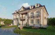 Современный дом в классическом стиле
