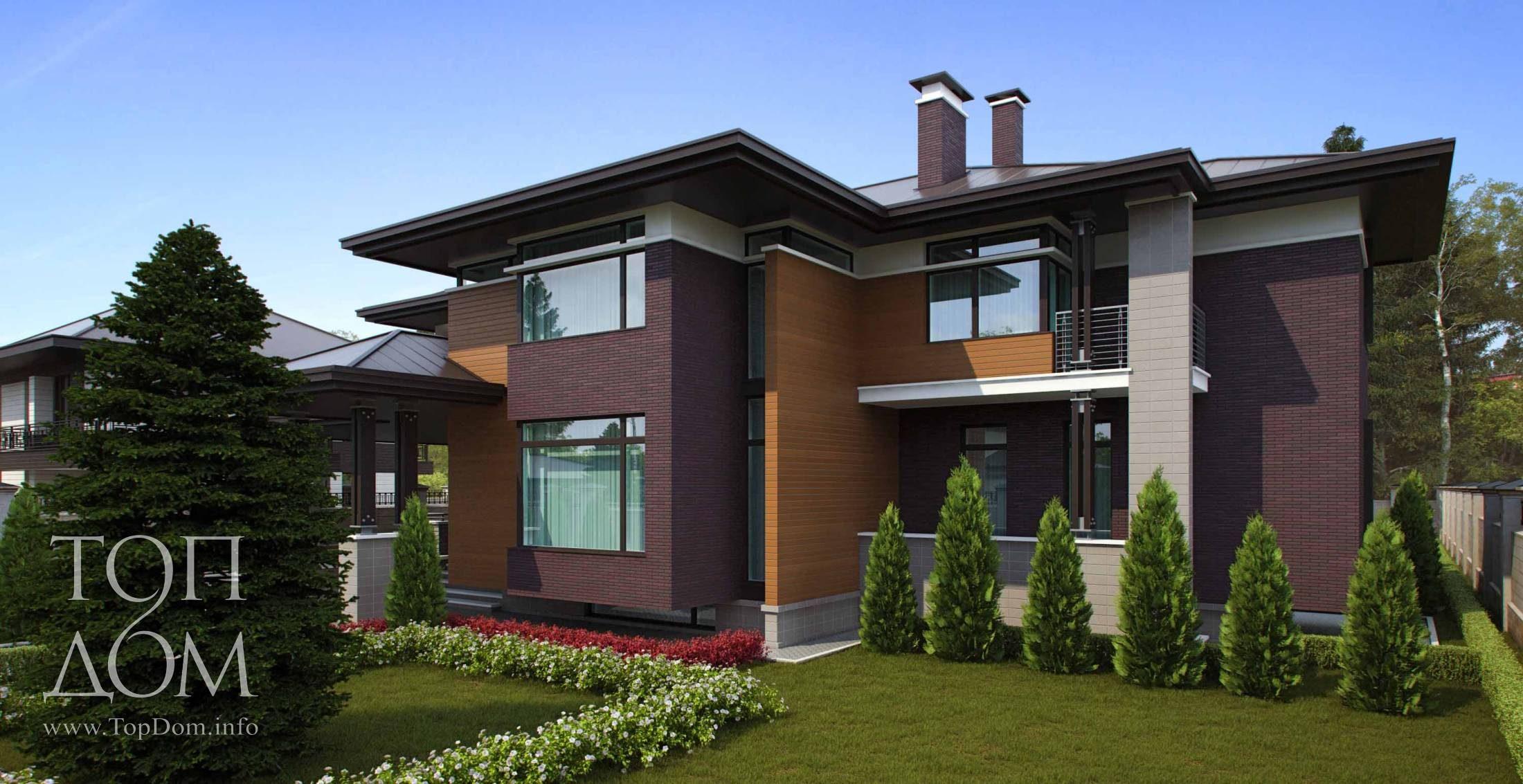 фото красивые большие дома