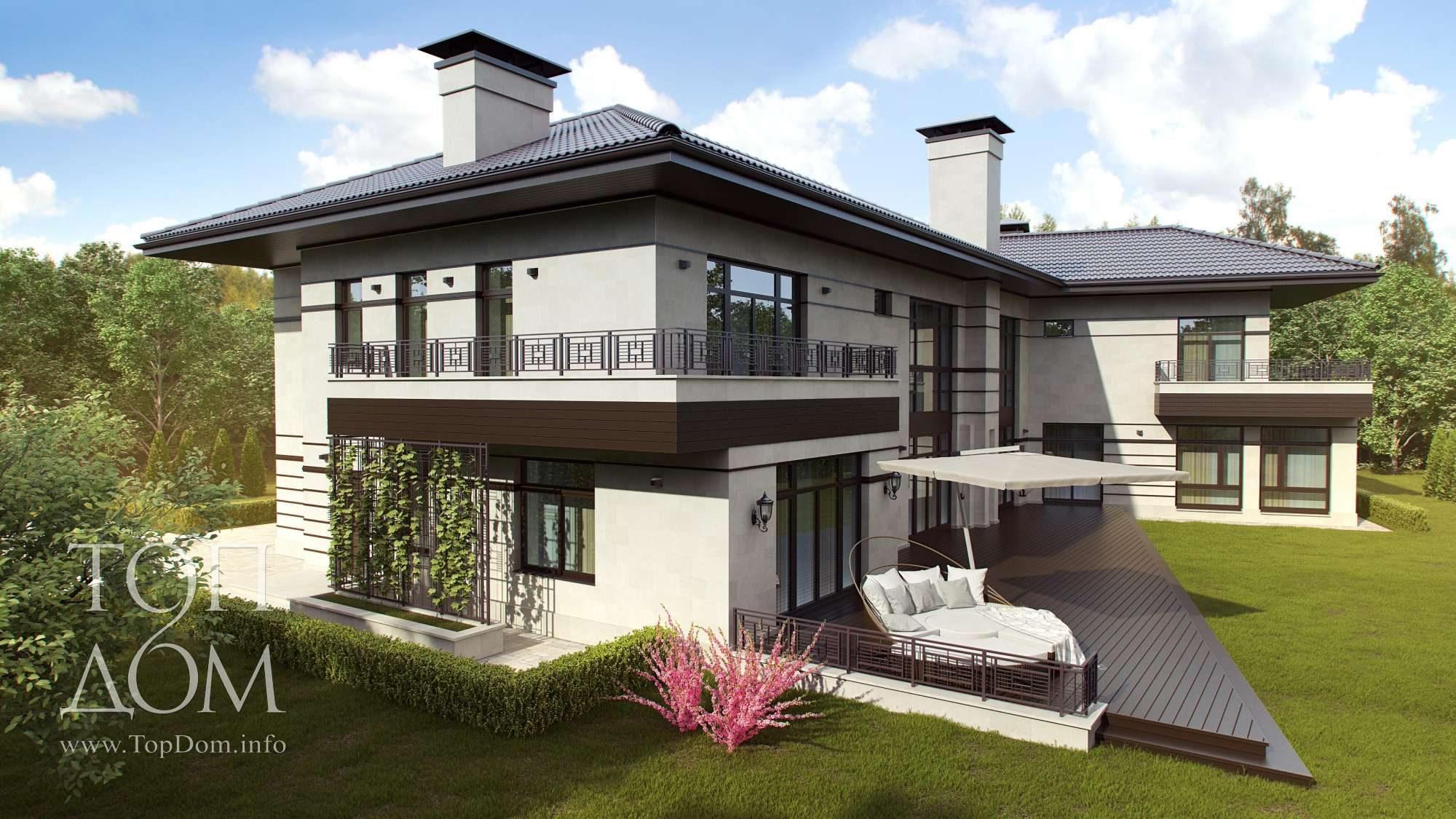 Возведение частного дома под ключ - 11 фото готового строите.
