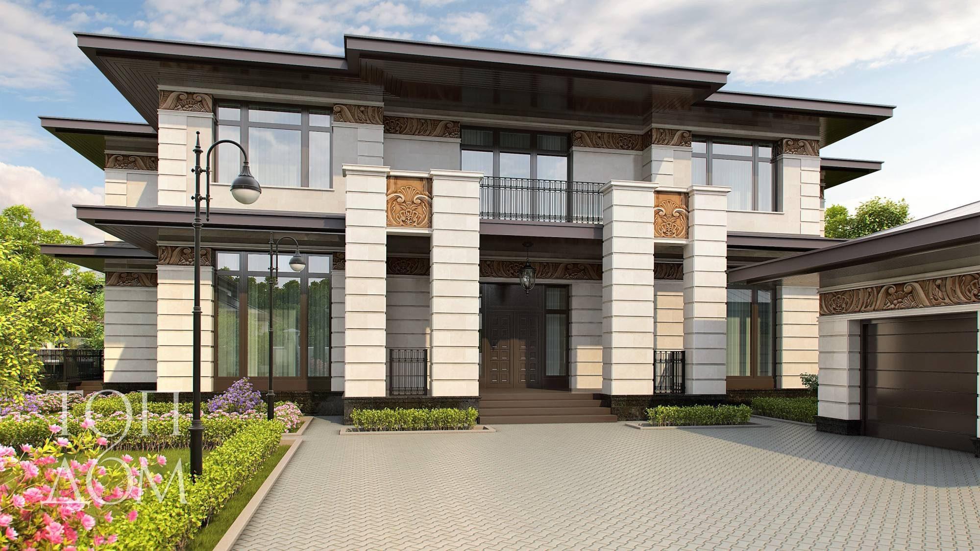 дома 2 этажные фото