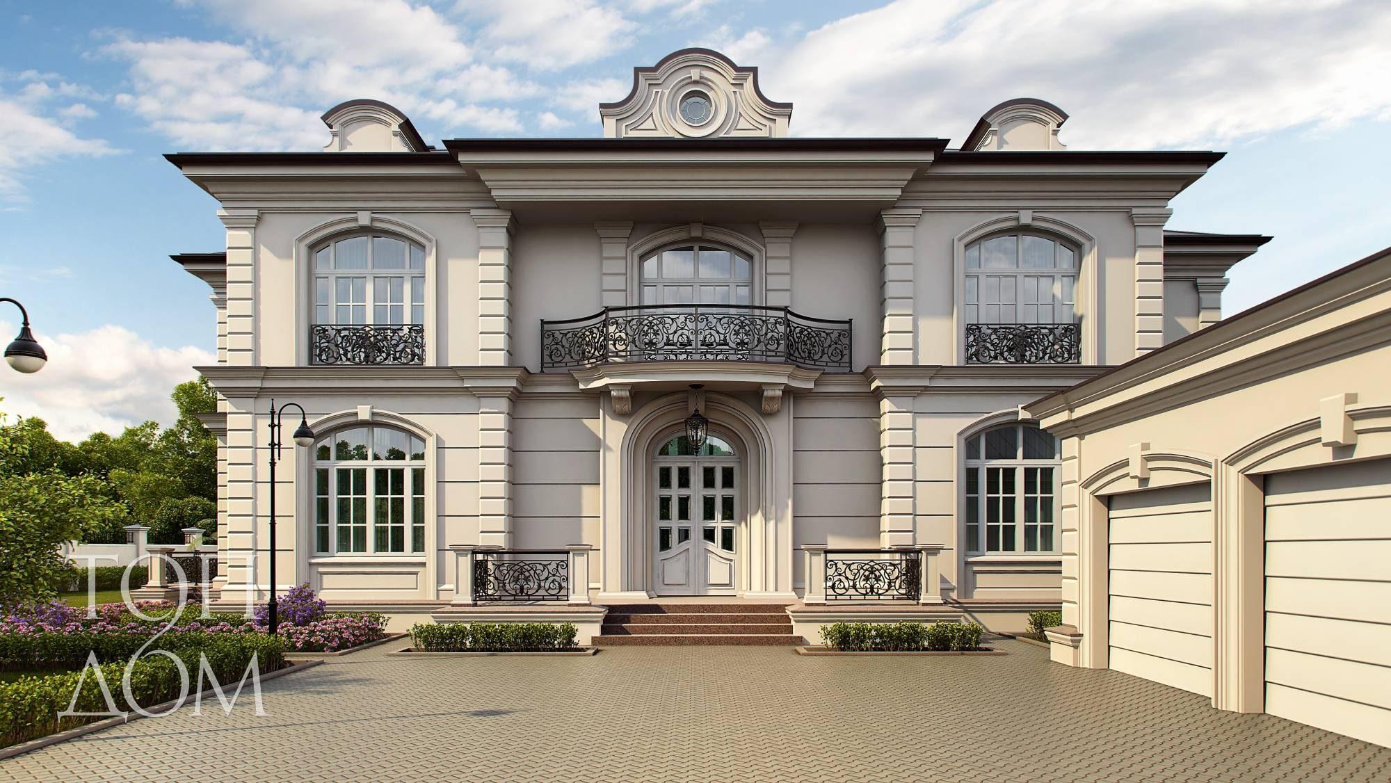 фото фасады загородных домов и коттеджей