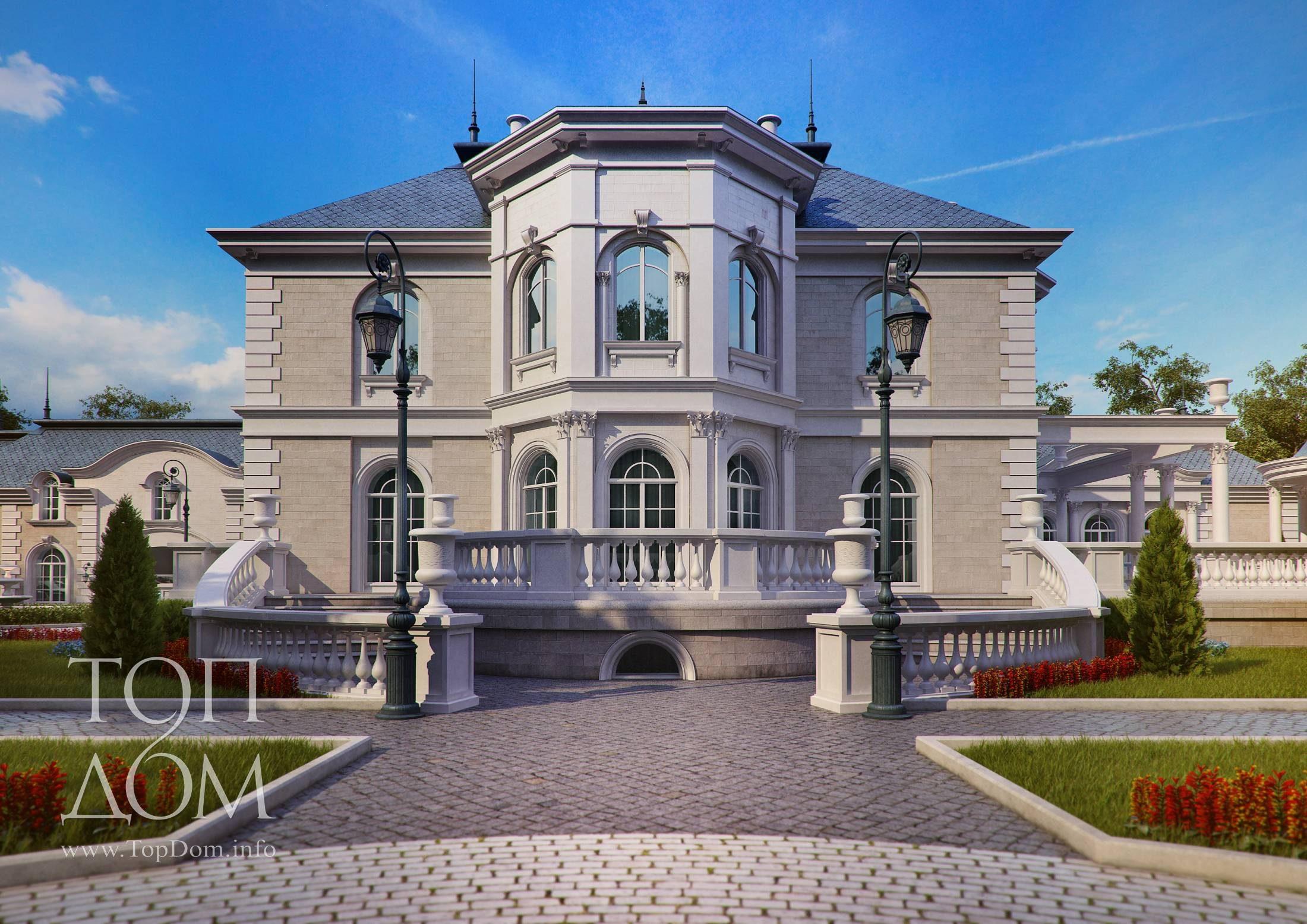проекты домов фото с эркером