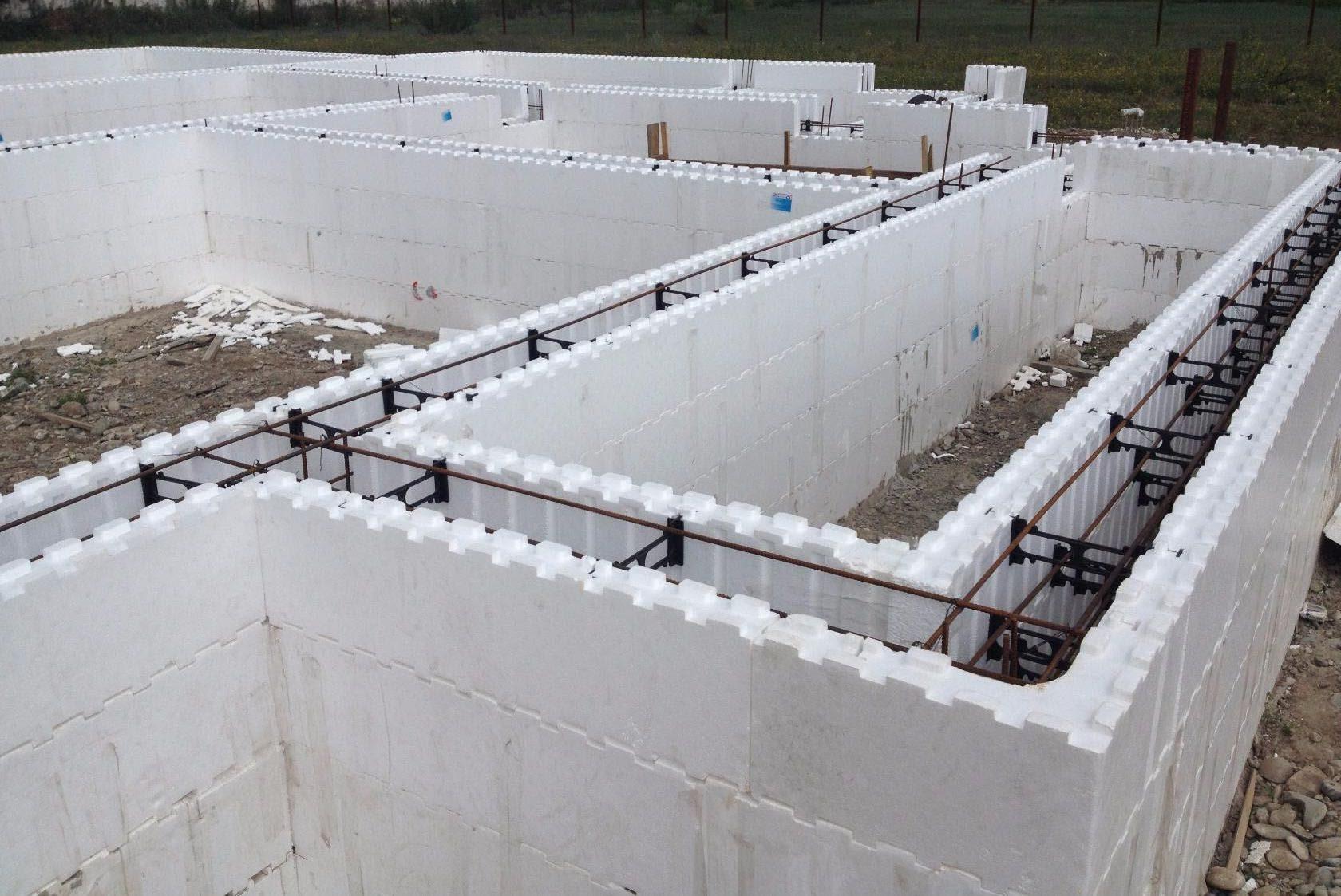 Частный дом из монолитного керамзитобетона инъектирование трещин в бетоне москва