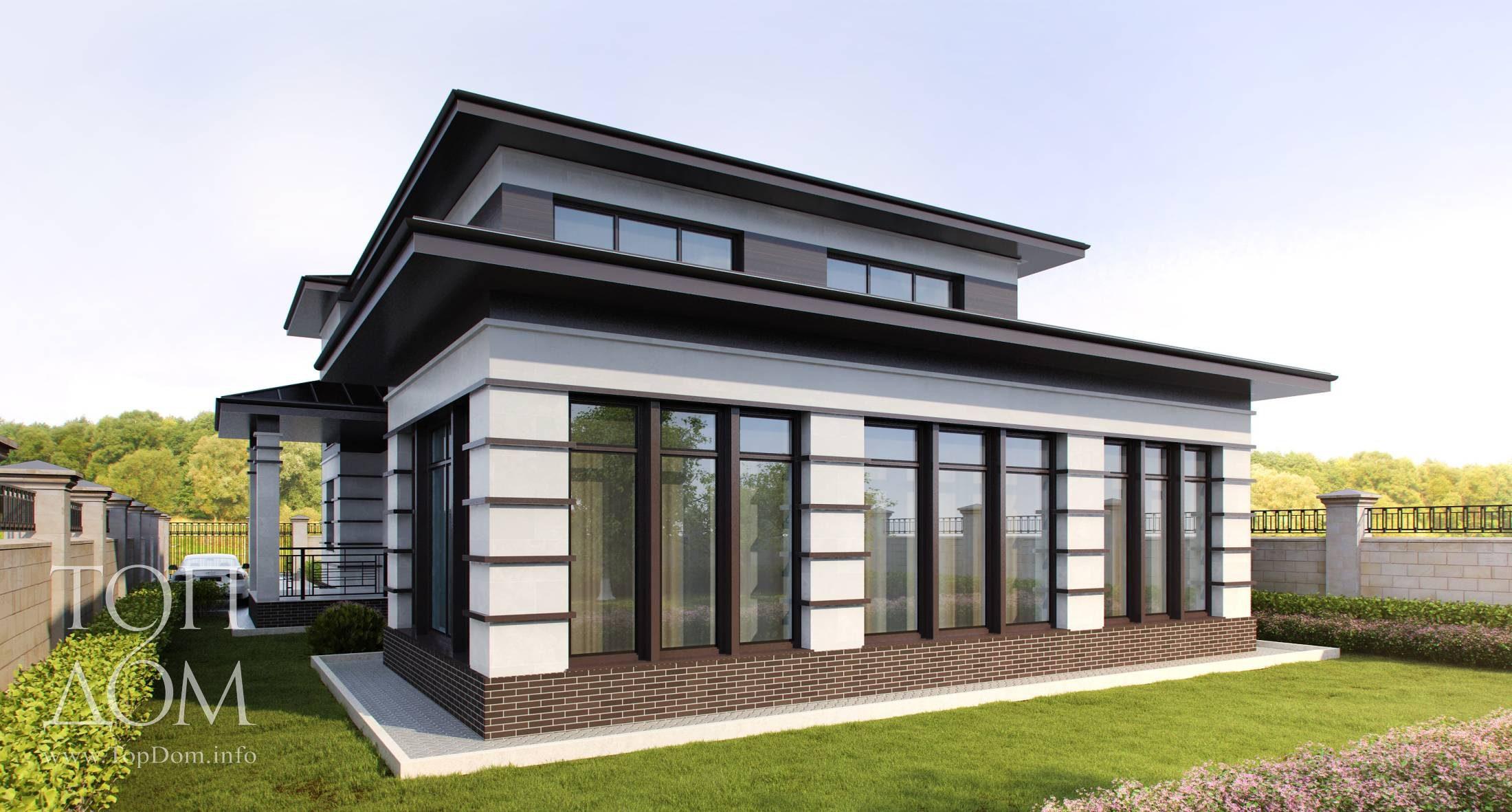 дома фото в стиле минимализм